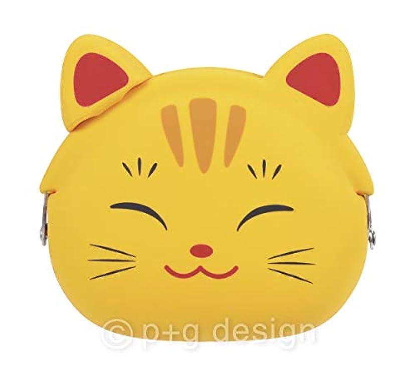 真似る意味シュートピージーデザイン 装飾雑貨(ファッション小物) イエロー サイズ: W9.5×H8.4×D4.5cm mimi POCHI JAPAN PG-20805