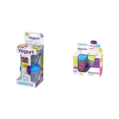 Check Out This Sistema To Go Collection Salad Dressing Container