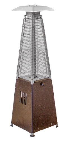 Save %23 Now! Hiland HLDS032-GTTHG Portable Propane Table Top Pyramid Glass Tube Patio Heater, 9500 ...