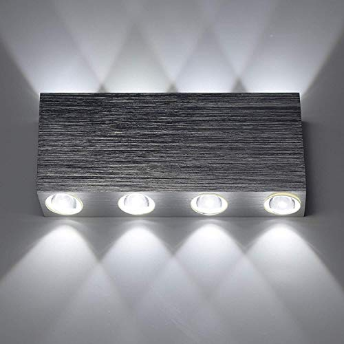 Dhl Moderne wandlamp op en dag LED wandlamp wandlamp van aluminium Sconce Uplighter
