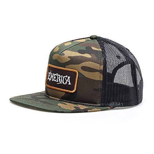 Emerica Herren Interlude Trucker Baseball Cap, Camouflage, Einheitsgröße