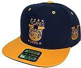 Mexico Tigres uanl Soccer hat Navy Gold 2 Logos Snapback