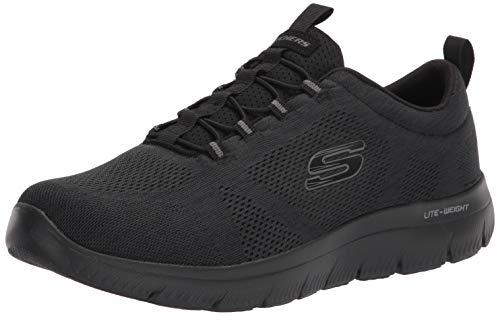 Skechers Herren Sneaker Summits-Louvin Kombinationen schwarz Gr. 42