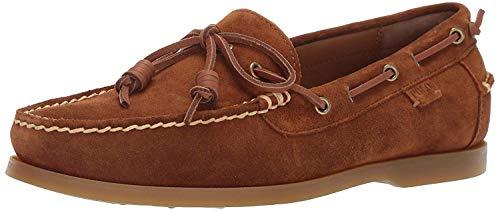 Polo Ralph Lauren Men's Millard Boat Shoe, Newport Navy, 10 D US