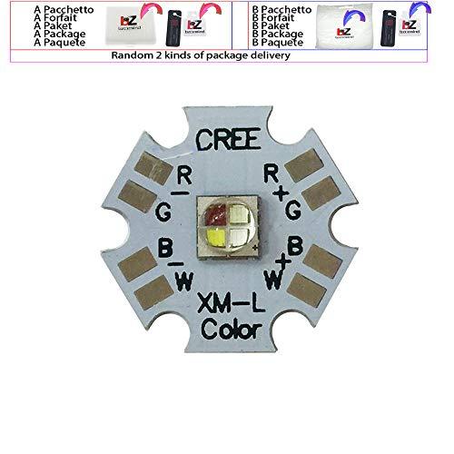 5 Stück Cree XLamp XML XM-L RGBW RGBWW RGB + Kühl/Warmweiß 12W 4 Chip LED Emitter Birne montiert auf 20mm Star PCB für Bühnenlicht,RGBW