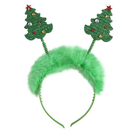 Widmann ? Serre-tête arbres de Noël unisex-adult, vert, Taille unique, vd-wdm05682