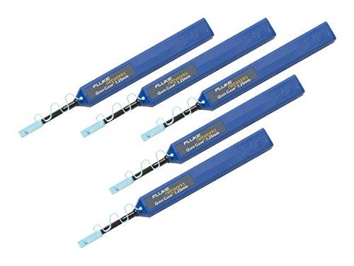 Fluke Networks QuickClean 1.25-5P Schnellreiniger für 2,5-mm-SC-, ST-, FC-, E2000-Steckverbinder und -Endflächen (5er-Pack), Zubehör für Fasertester