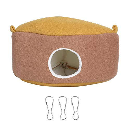 Hamsterbed, kort pluche slaapbed Warme hangmat voor kleine huisdieren Suikereekhoorn Egel Cavia's Muizen Rat