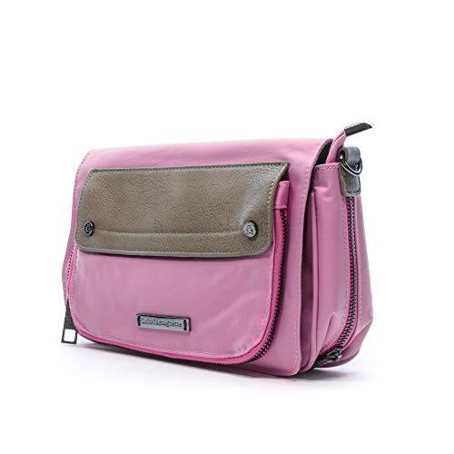Lulu Castagnette Engy Damen Tasche, Rosa, Rosa (Pink) - 43162_284958