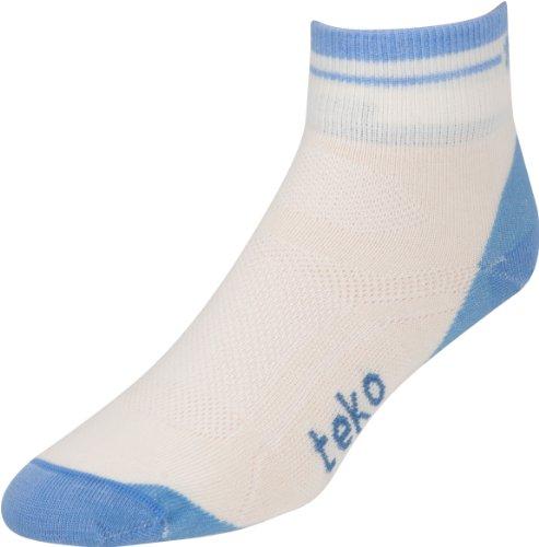 Teko S3O Bio Merino Damen Ultralight MiniCrew Socken, Damen, Natural/Della