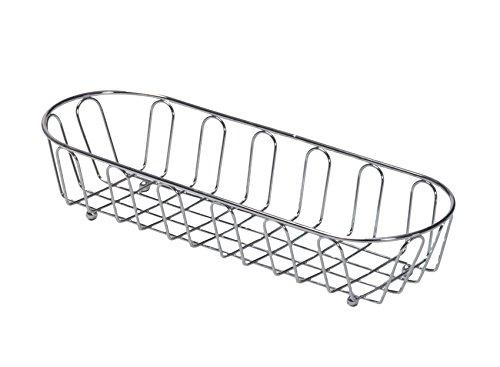 G.E.T. Enterprises Oblong Metal Wire Bread Basket Metal Specialty Servingware Collection 4-22453 (Pack of 1)