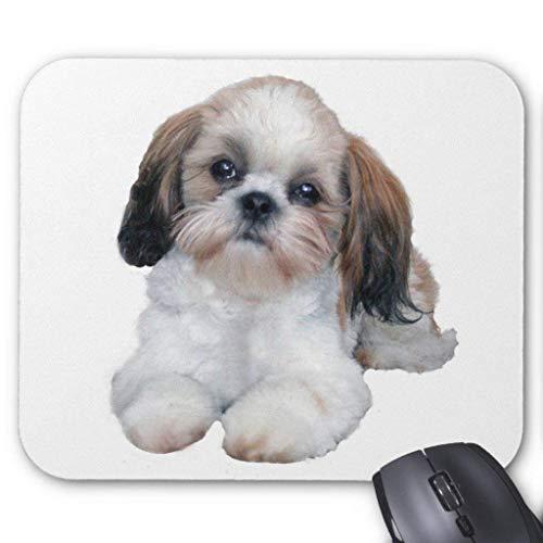 Accesorios de ordenador anti-fricción pulsera Shih Tzu Puppy Mousepad
