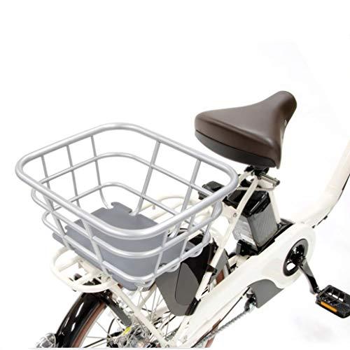 MBZL Fahrradkorb Quick Release Fahrradkorb for Rennrad Mountainbike Folding Fahrrad (Color : Silver)