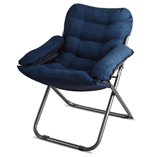 YLLXX Creative Paresseux Unique Canapé Chaise Dortoir Ordinateur Chaise Maison Chambre Moderne Minimaliste Balcon Inclinable Chaise Pliante (58 * 66 * 91 Cm)
