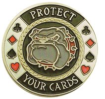 DA VINCI Hand Painted Poker Card Guard Protector, Protect Your Cards