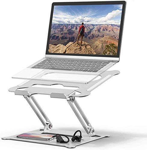 Soporte Para Laptop Portátil Laptop Stand, vertical portátil, ordenador portátil Soporte ajustable for portátil Laptop Stand de escritorio plegable, ordenador portátil Soporte Compatible con 10 a 17 p