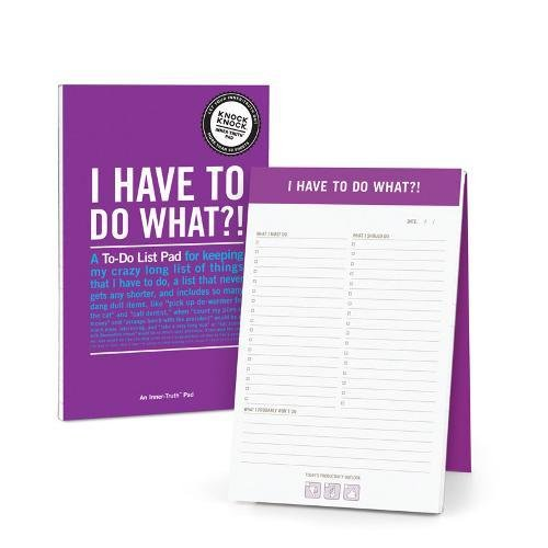 Knock Knock I Have to Do What?! Inner-Truth Pad