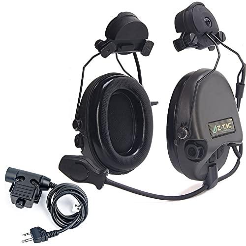 【ZTAC】 Z-Tactical zSordin Tactical Headset (Z111-BK) + Adaptador Giratorio rápido (Z148) +...