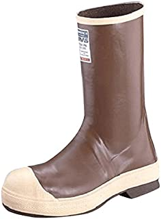 """Honeywell N3822148-7 Servus by Size 7 Neoprene III Brown 12"""" Neoprene and Latex Boots with Neo-Grip Outsole and Steel Toe, English, 15.34 fl. oz. Volume, Plastic, 12 x 1 x 1"""