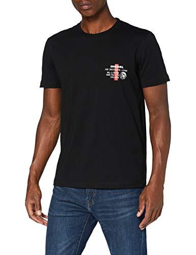 (ディーゼル) DIESEL メンズ Tシャツ A006280LAYY L ブラック 900