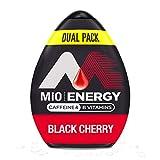 MiO Energy Black Cherry Liquid Water Flavoring Enhancer, 3.24 fl oz,...