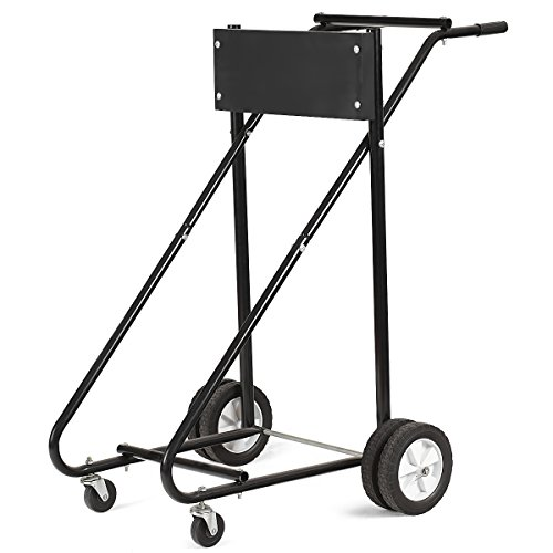 1100 LBS PARTS-DIYER Auto Car Transmission Jack Foot Pump Loaded High Lift Stand Tool
