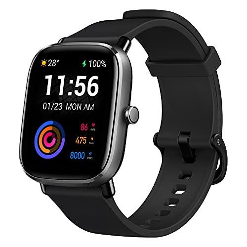 Amazfit GTS 2 Mini, Smartwatch Men's, Nero, Square