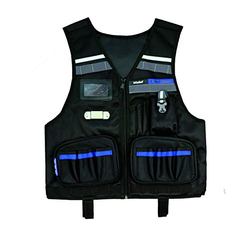 Niche Heavy Duty Professional Tool Vest with Multiple Organizer...
