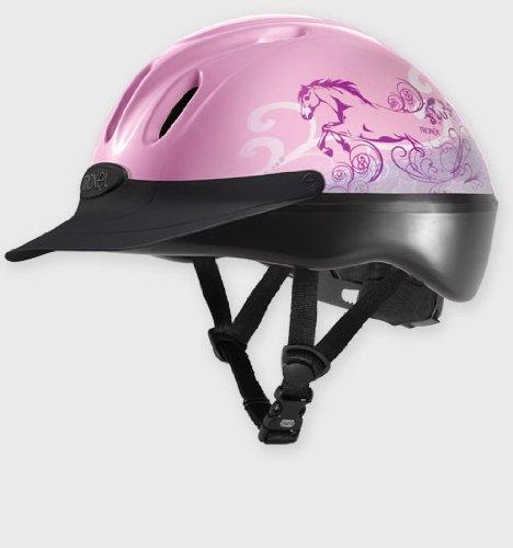 Troxel Pink Dreamscape Graphic Spirit #1 Selling All Purpose Helmet - All Siz.