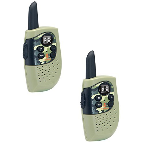 Cobra HE130G Kids Walkie Talkies Two-Way Radios Toy for Kids, Hero Series (Green, Pair)