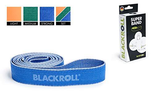 BLACKROLL® SUPER Band - Fitnessband. Trainings-Band/Gymnastik-Band/Sport-Band für eine Stabile Muskulatur mit unterschiedlicher Dehnbarkeit