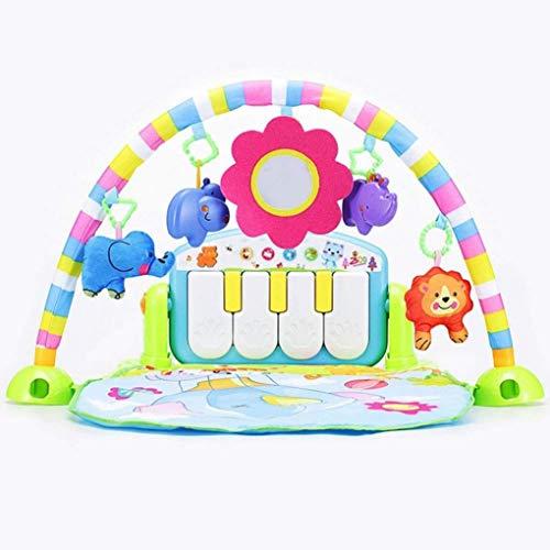 ZHJIUXINGZD Baby Piano Gym, Baby Play Mat, Baby Gym Jungle Play Mats, Juguetes De Regalo para Bebés
