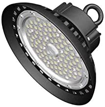 CYLED 150W UFO Led High Bay Lighting, Ul Listed, 300W Hps/Mh Bulbs Equivalent, 18500Lm, Waterproof,Coolwhite, 6000K, Super...