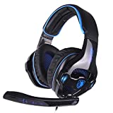Best Sades Noise-cancelling Headphones - SADES SA810GT Stereo Gaming Headset for Xbox One/PS4/PC Review
