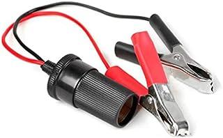Car Auto Battery Terminal Clip 12V DC Cigarette Lighter Socket Adapter