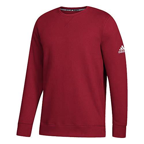 adidas Climawarm Fleece Crew Top Mens Multisport XXXL Power Red-White