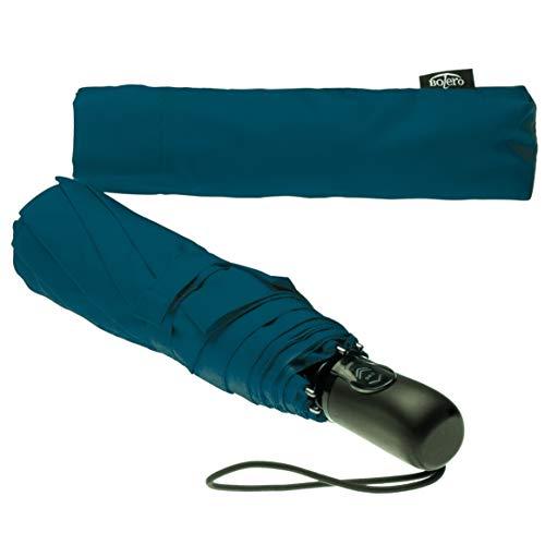 BOLERO Ombreelli – Mini-Regenschirm, faltbar, tragbar, winddicht und automatisch, automatisches Öffnen und Schließen, Pongee 190T – 7 Farben