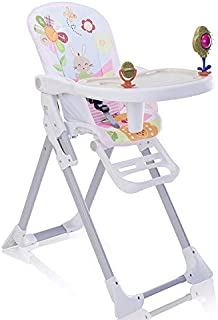 comprar comparacion Star Ibaby - Trona de bebés con juguetes Pretty - Doble bandeja, reposapies regulable.