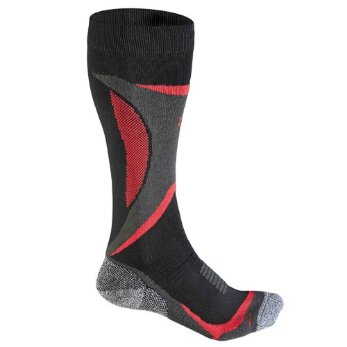 Flite Fuse Skiing tEC p100 skisocke pour Femme Noir/Rouge Multicolore Noir/Rouge 35-38