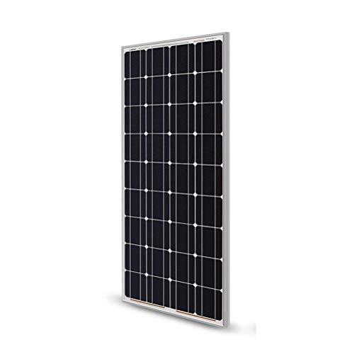 High song Paneles solares Panel Solar 100w 200w Sólido 18V Panel Solar Rígido Templado De Vidrio...