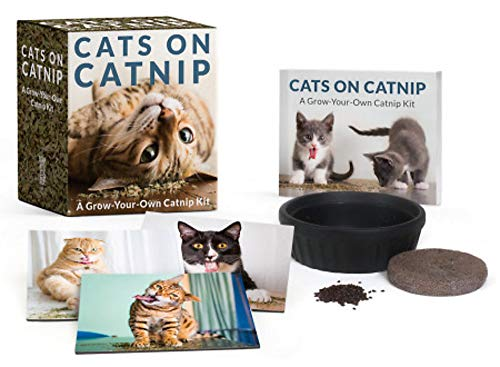 Cats on Catnip: A Grow-Your-Own Catnip Kit (RP Minis)