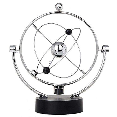 ThinkTop Educational Physics Mechanics Science Toy Kinetic Art Milky Way Orbital Gadget Perpetual Motion Gizmos Home Office Desk Decoration