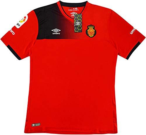 Umbro Prima Maglia RCD Mallorca 2016/2017–Maglietta di Calcio Ufficiale, Uomo, RCD Mallorca Home SS, Rosso, XXL