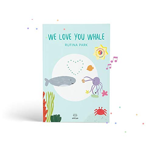 Ottiya Pop Up Augmented Reality Book- We Love You Whale, for Kids Ages 5-9