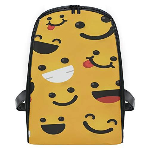 Mochila Emoticones sonrientes satisfechos Mochila pequeña Mochilas Bolsas para niñas