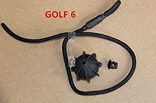 Fastener & Clip 2PCS Car Trunk Hang Sling Rope Bedplate Hang Rope Vehicle Parcel Shelf String Strap Cord for Golf 6 mk6 Golf 7 MK7 - (Color Name: Golf 6 MK6)