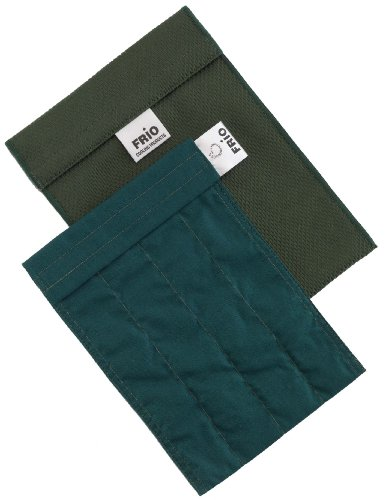 Frio - Bolsa isotérmica para mantener insulina, color verde, 14 x 19 cm
