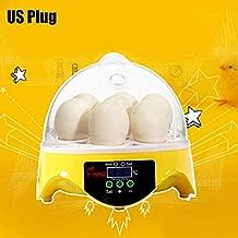 FidgetKute Automatic Digital 7 Eggs Incubator Poultry Hatcher for Duck Bird Chicken Egg
