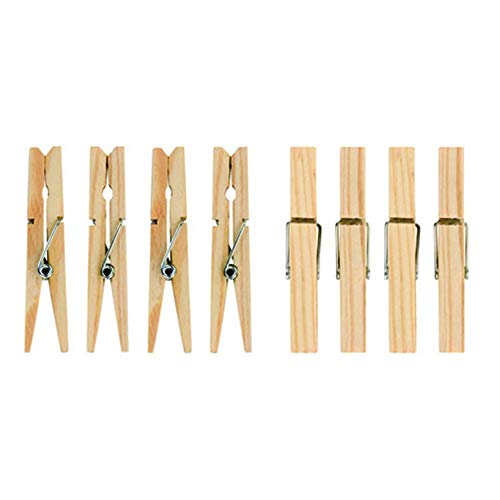 36 Hardwood Clothes Pegs