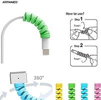 Inovaxis Universal 4'lü Spiral Renkli Kablo Koruyucu